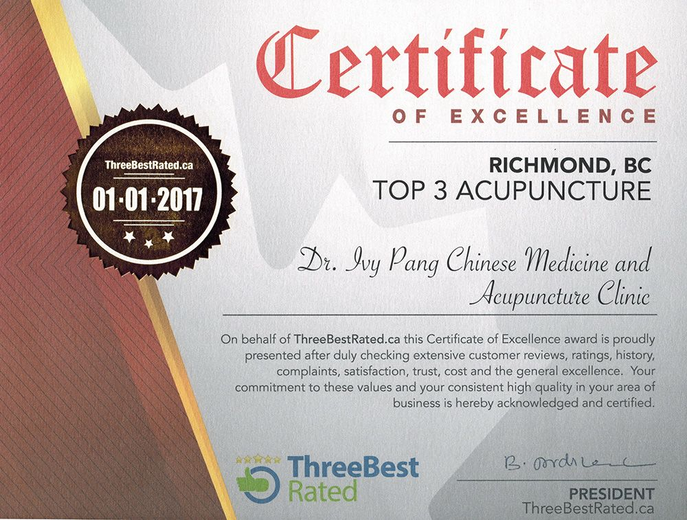 Dr  Ivy Pang Chinese Medicine & Acupuncture Clinic